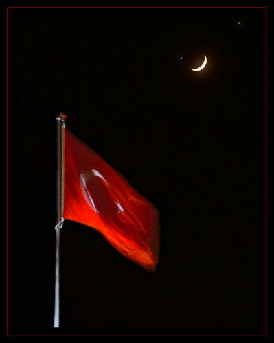 Göklerdeki Bayrak.... (The Turkish Flag in the Sky) | by Kuzeytac