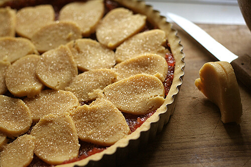 unbaked jam tart | by David Lebovitz