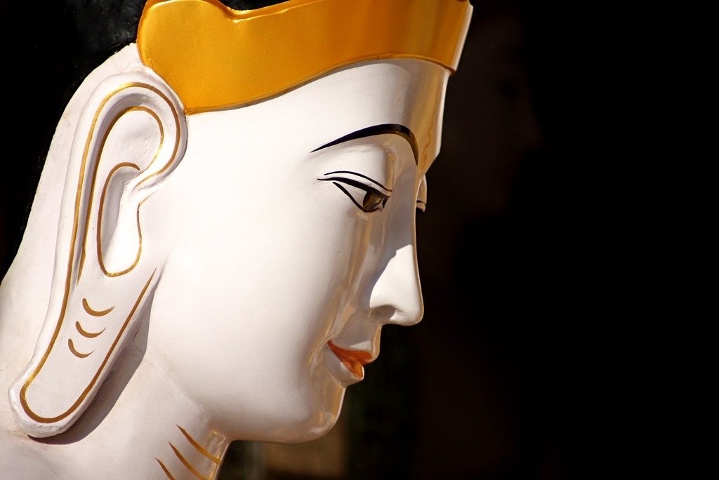 A Buddha At The Shwedagon