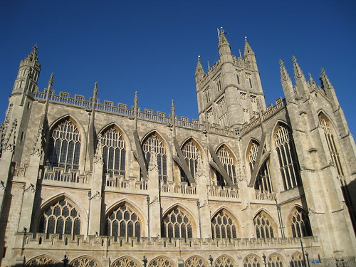 Bath Abbey, on the side | by midnightglory