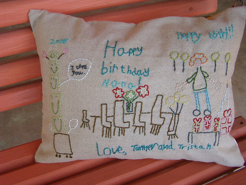 Mom's B-day Card Pillow | by VickieHowell
