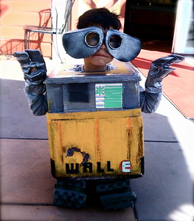 WALL-E COSTUME:  13) WALL-E Costume Sets Sail | by Complete Antarchy