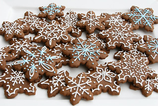 Gingerbread Snowflakes | by Glorious Treats