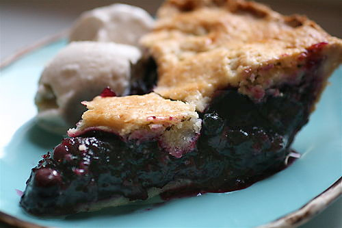 Best Blueberry Pie with Foolproof Pie Dough | by thebittenword.com