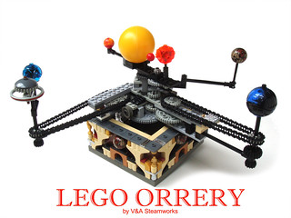 Lego Orrery by V&A Steamworks | by V&A Steamworks - Guy HImber