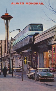 Alweg Monorail - 1962 Seattle World's Fair | by The Cardboard America Archives