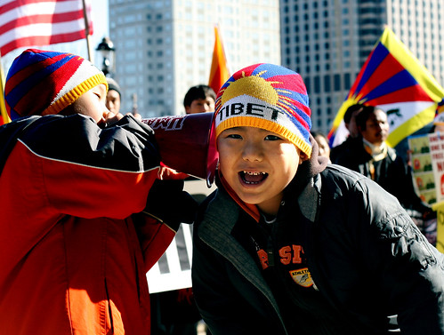Tibet Peace Protest, Hartford, CT | by WNPR - Connecticut Public Radio