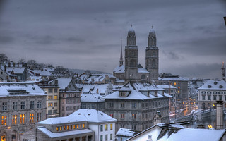 winter in zurich | by Toni_V