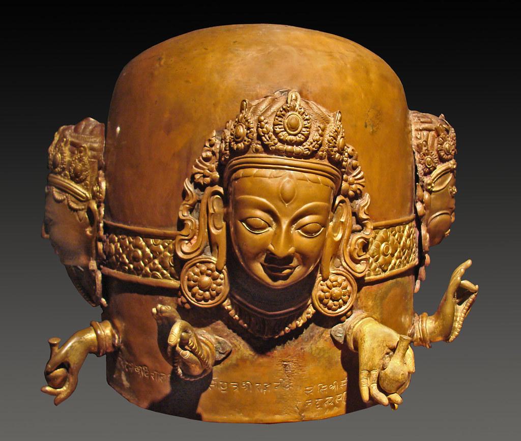 Sivalinga (Népal, vers 1700) au musée de Dahlem près de Berlin.