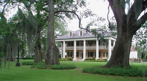 Houmas House and live oaks | by diane_rooney