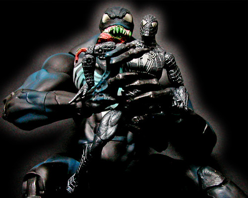 MARVEL LEGENDS FACE-OFF Black Spider-man VS Venom | more ...