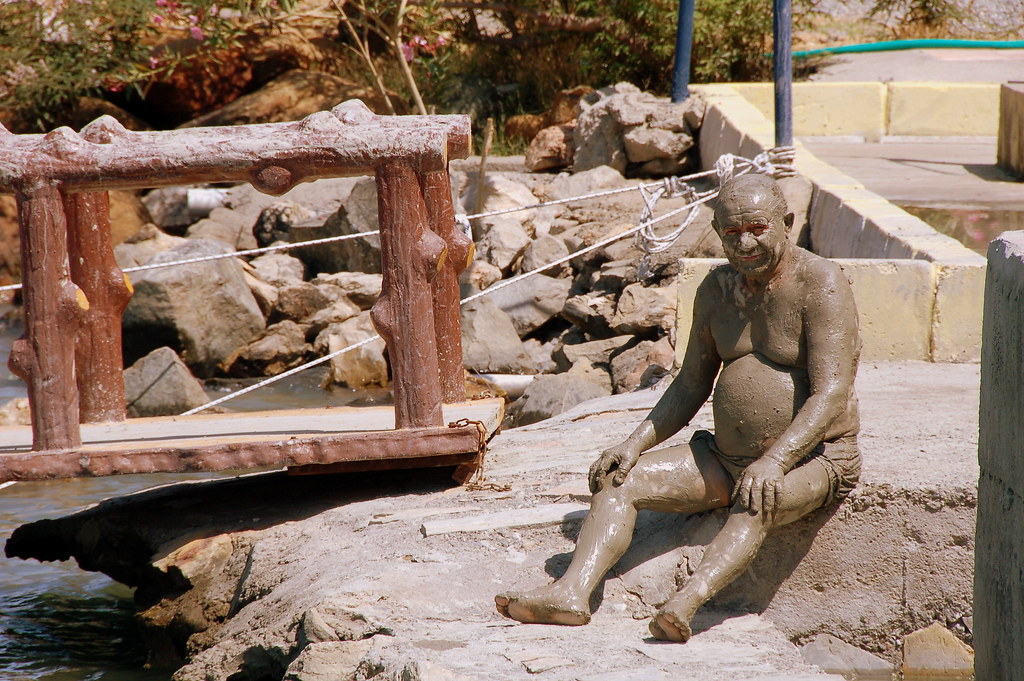 Human clay man