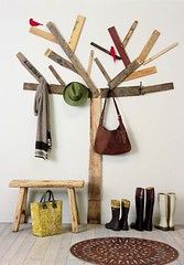 Birch tree coat rack | by The Estate of Things