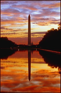 USA - Washington DC - Mall Sunrise from the Lincoln Memorial | by Darrell Godliman