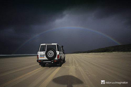 Moonbow = Rainbow at Night | by Garry - www.visionandimagination.com