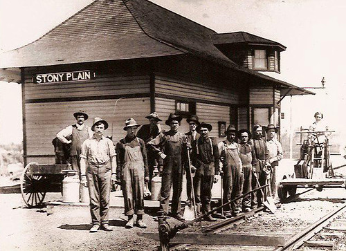 Grand Trunk Station Crew | by Multicultural Heritage Centre, Stony Plain, AB