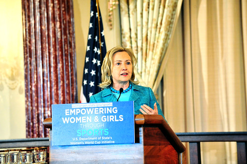 Secretary Clinton Launches the Women's World Cup Initiative and Marks the Kick-Off of the 40th Anniversary Year of Title IX | by U.S. Department of State