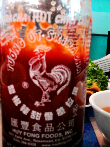 Sriracha Hot (Chili) Sauce - Thai (or Vietnamese) Condiment by Huy Fong Foods (Cell Phone Cam) | by kalihikahuna74 (Ryukyu Khan or Okinawa808)