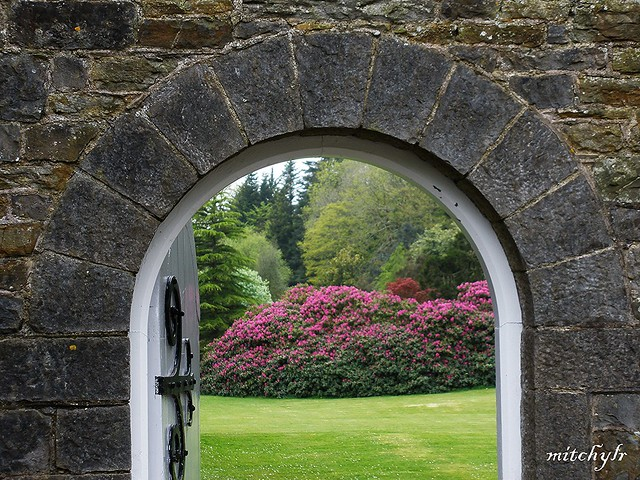Picton Castle Archway
