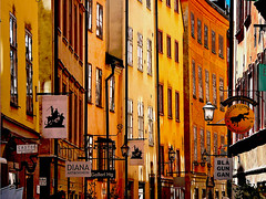 Gamla Stan - Walls & Signs | by Olof S