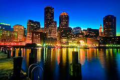 Boston Skyline at Dusk | by briburt