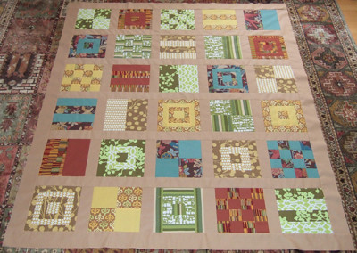 Mod Sampler Quiltalong: Completed top | by jarobichaux