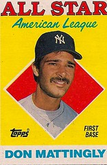Don Mattingly 1987 88 Topps 1987 88 Topps Don