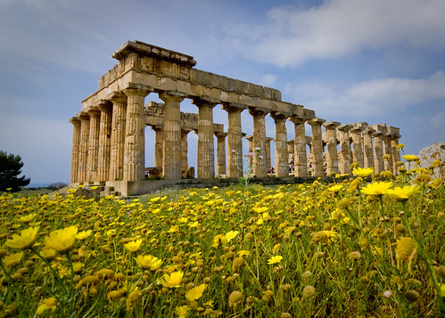 Sicily Selinunte Temple (creative commons wallpaper) | by zoutedrop
