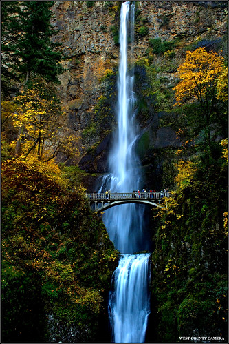 Multnomah Falls #2 - Columbia River Gorge | by West County Camera
