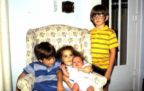 baby sarah plus sibs ~ 1987