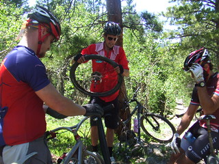Mtb group ride at Nederland, CO | by Jeff Kerkove