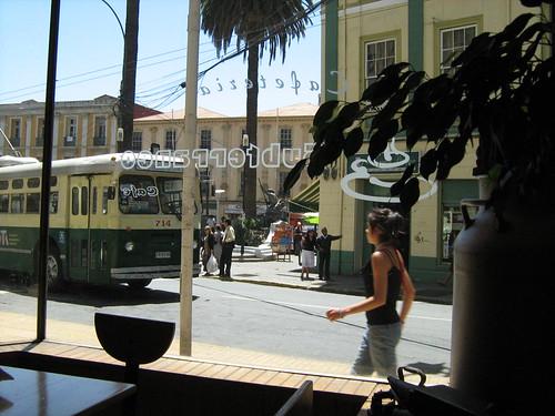 Café Subterráneo, Valparaíso, Chile