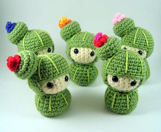 Cactus Kokeshi | by AmigurumiFriendsStudio