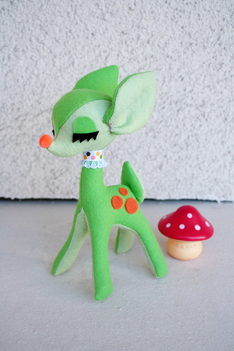Lime Soda Deer Plush | by Emily Bee ♥ Follow The White Rabbit