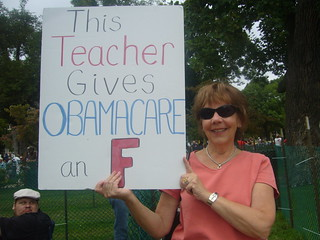 This Teacher Gives Obamacare an F | by wstera2