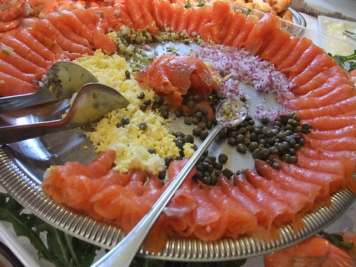 Smoked Salmon on the Sunday Brunch Buffet at The Worthington Inn | by swampkitty