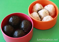 Rice balls in small Vivo tiffin set | by Biggie*