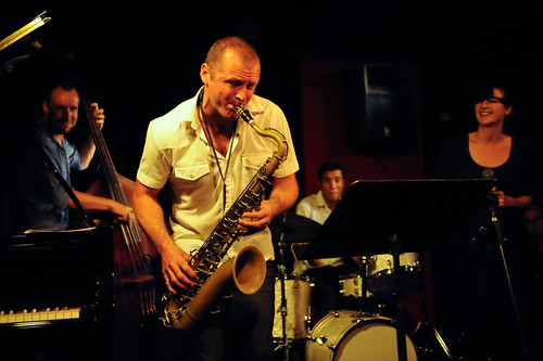 Jamie Oehlers Quartet with Megan Washington | by Mark Broadhead