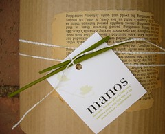 old book wrapping | by karin eriksson
