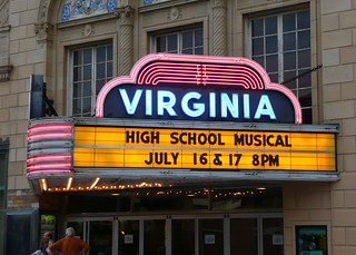 Champaign, IL Virginia Theater ~ marquee | by army.arch