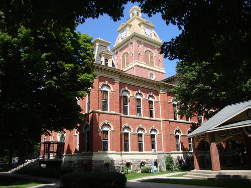 Lagrange County Courthouse (Lagrange, Indiana) | by courthouselover