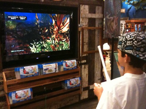Bass pro shop wii fishing game la tati flickr for Bass pro shop fishing games