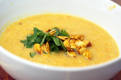 Roasted Pumpkin Soup | by sassyradish