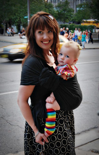 Babywearing in the City | by I Should Be Folding Laundry
