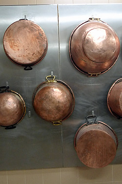 copper candy pots | by David Lebovitz