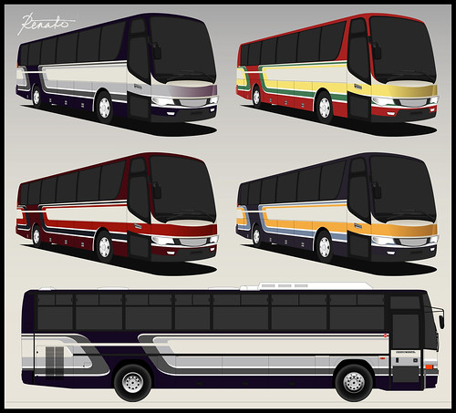 Bus Livery Design | by pantranco_bus