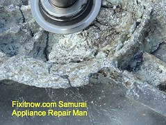 Whirlpool Duet Washer Drum Spider Corrosion: Hub Closeup | by Zenzoidman