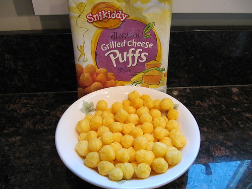 Snikiddy Cheese Puffs | by Gluten Free Food Reviews