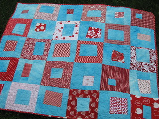 baby quilt front | by upstatelisa