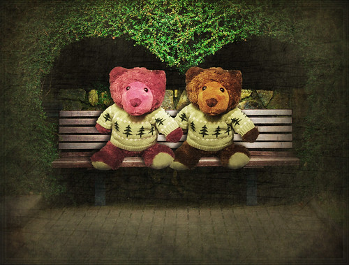 * Teddy Love Seat * | by pareeerica